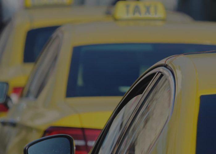 Hiring a taxi service